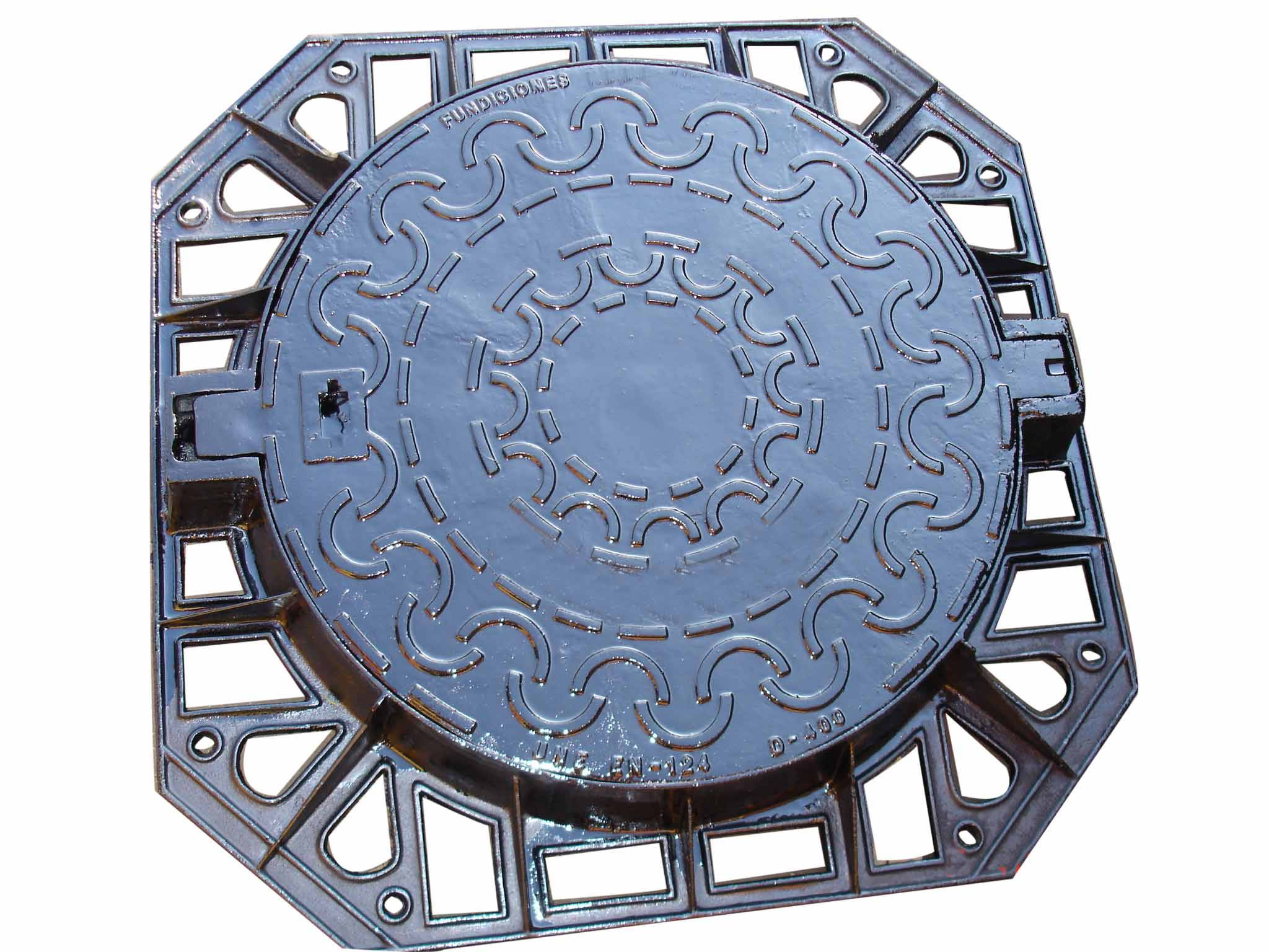 Ductile iron casting gully cover