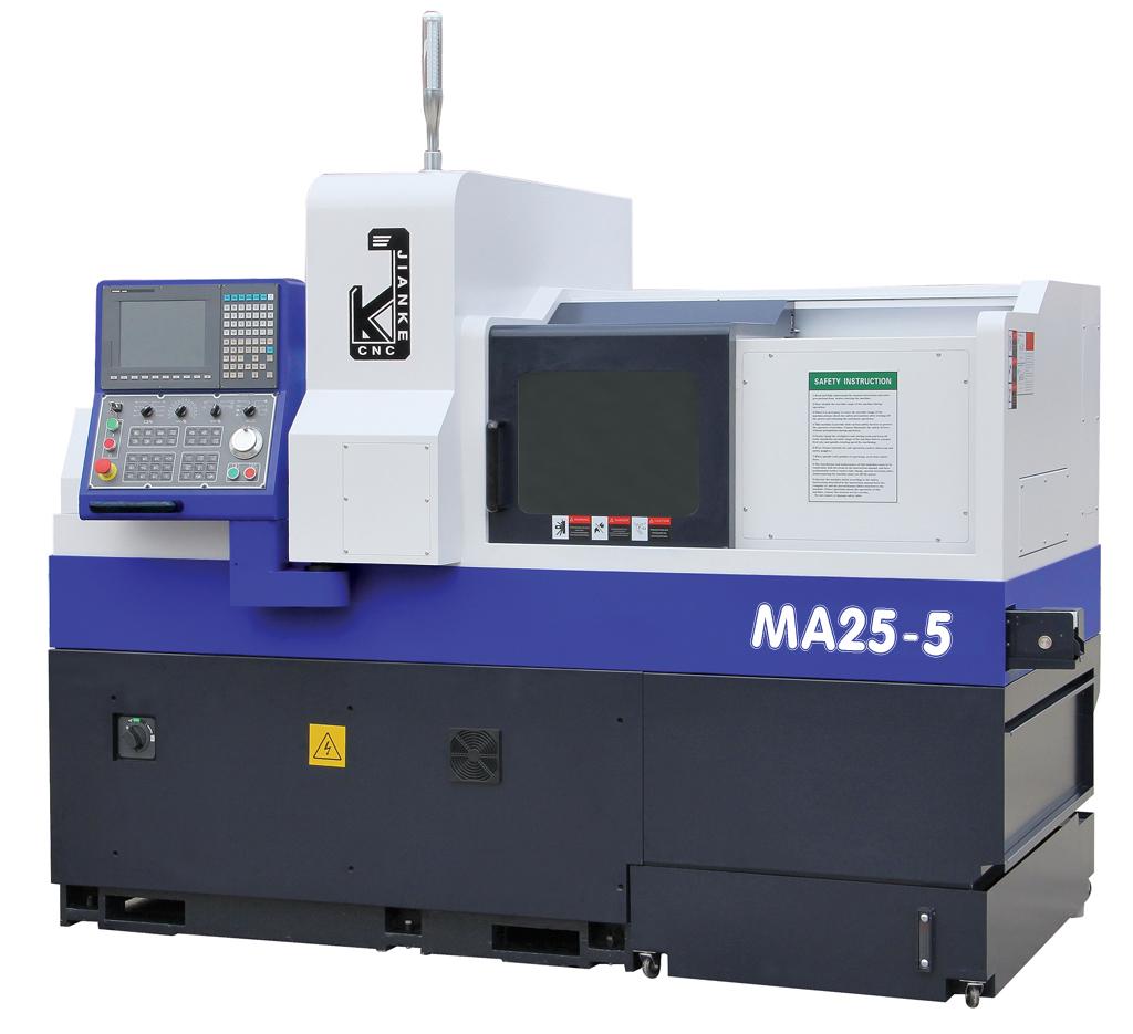 5 Axes Swiss CNC Precision Automatic Lathe MA255