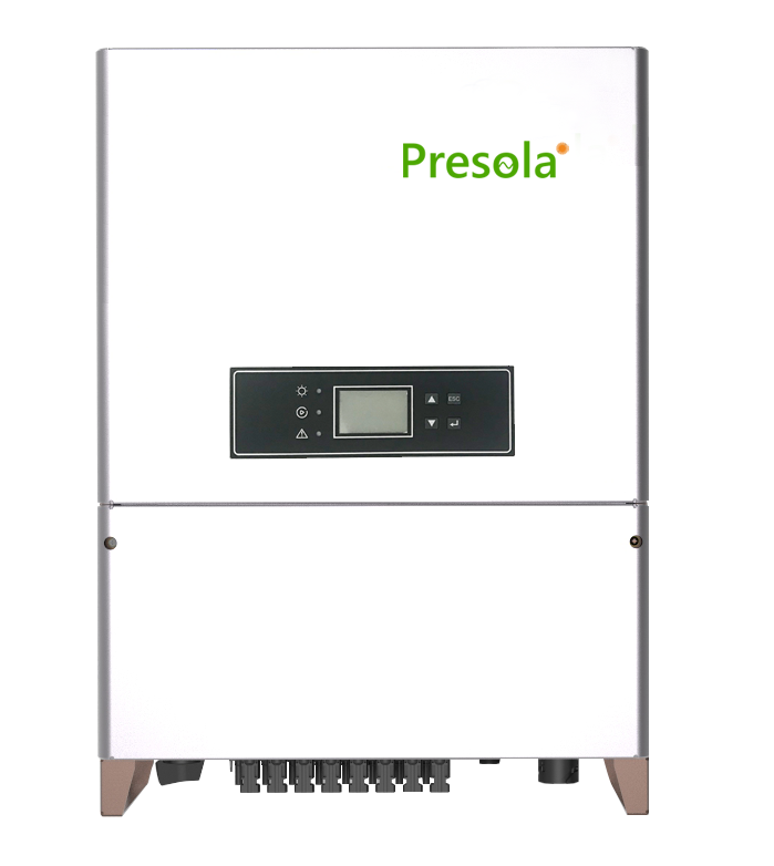 Presola Grid-Tied Single Phase String Inverter 1.5kw Transfornerless Mercury Series Solar Inverter
