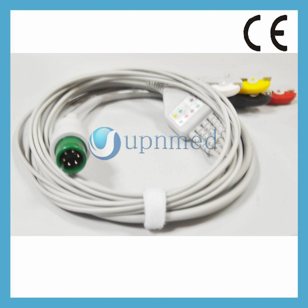 MEK MP1000NT Monitor ECG Cable,U313-35CI