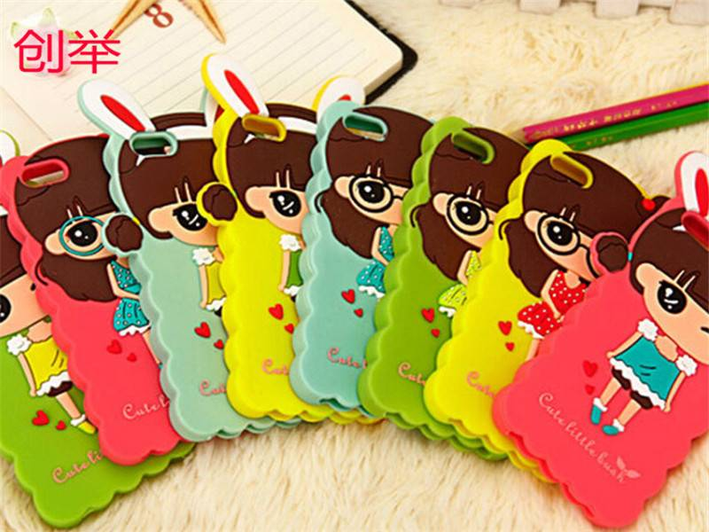 Design silicone mobile phone cover for iphone,fashion cell phone cover