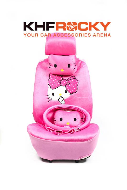 Cartoon Hello Kitty Cover Set Soft