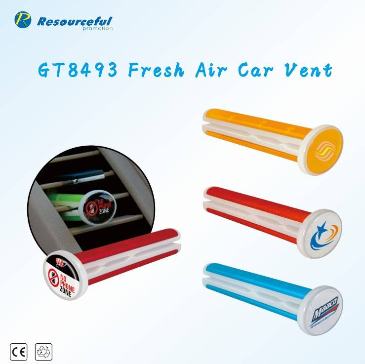 Top Quality Car Vent Clips Air Freshener/2014 new convenient car vent clip air freshener/whol