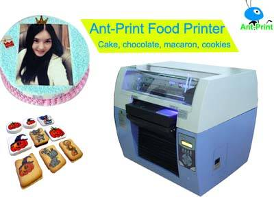 Food Inkjet Printer for printing on different food