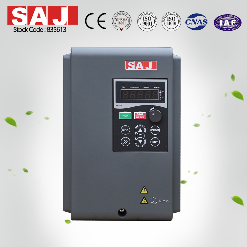SAJ VM1000 Series High Performance 3 Phase Variable Frequency Converter AC Inverter