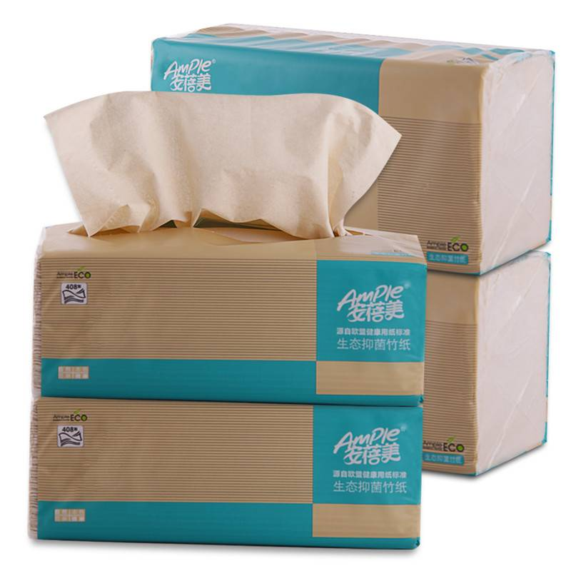 Close Surface and Soft Texture Table Facial Tissue/Facial Paper/Tissue Paper