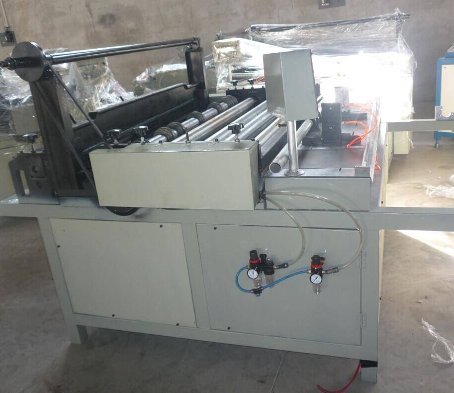 1000 mm Automatic metal mesh cutting and rolling machine