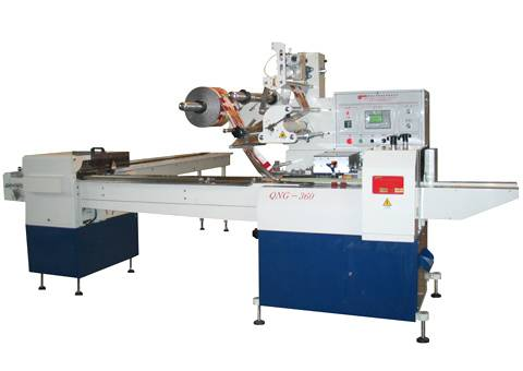 QWS-360 DOUBLE SERVO CONTROL TRAY-FREE BISCUIT PACKAGING MACHINE