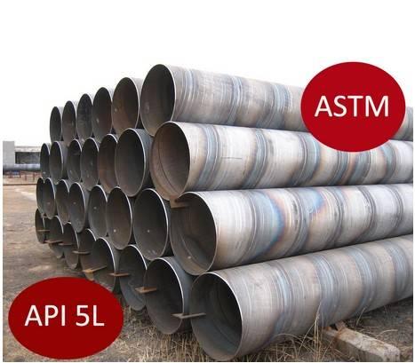 X65 Spiral Welding Carbon Steel Pipe / API5l Oil Pipe