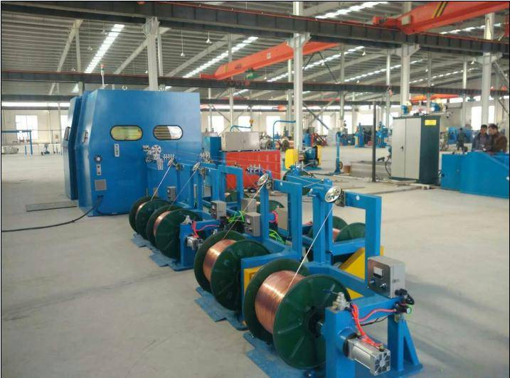 Fuchuan FC-1000B high speed wire twisting machine with high performance