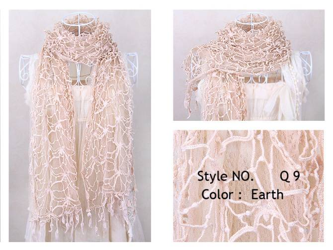 2012 fashional design brand scarf