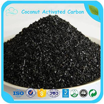 750-1050mg/g Iodine 8*30 Mesh Granular Activated Carbon For Sale