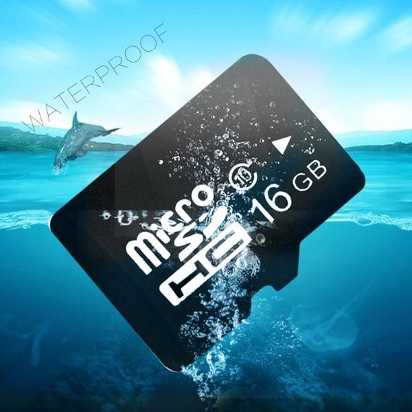 Real Capacity memory card of 16GB