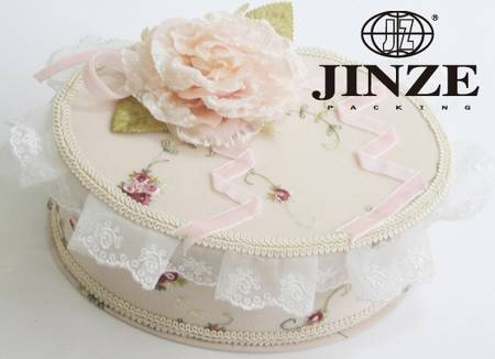 fabric jewelry box