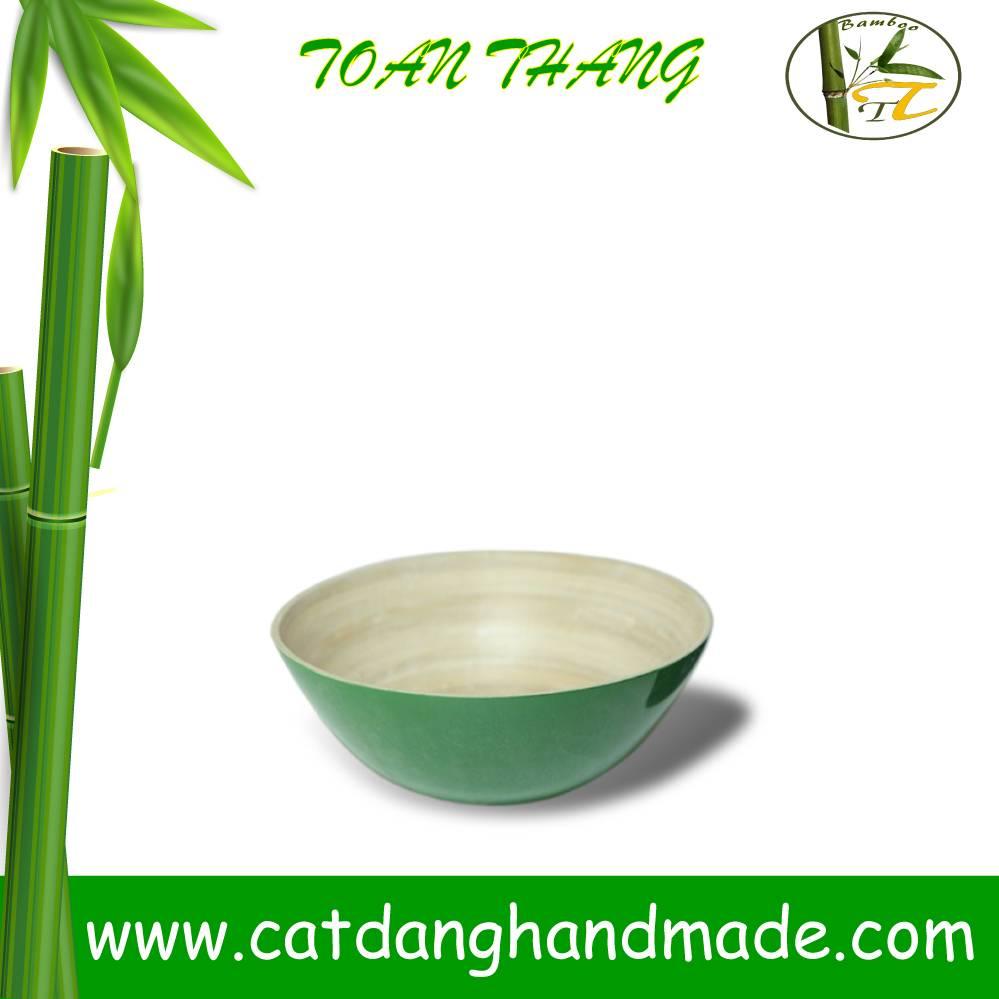 Bamboo mixing bowl, bamboo salad bowl(skype: jendamy, Mob: +84 914542499)