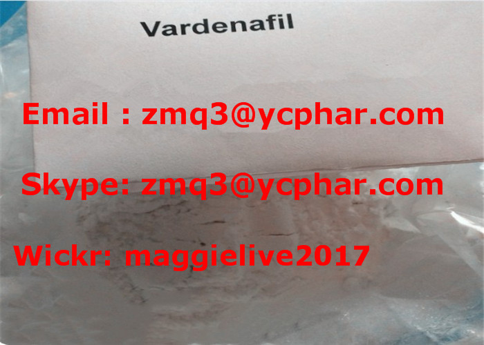 Vardenafil HCL Male Enhancement Steroids 224785-91-5 Vardenafil Hydrochloride Purity 99%