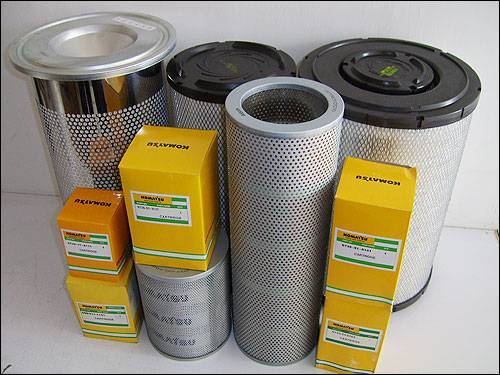 komatsu bulldozer D155A-1 air filter oil filter water filter fuel filter