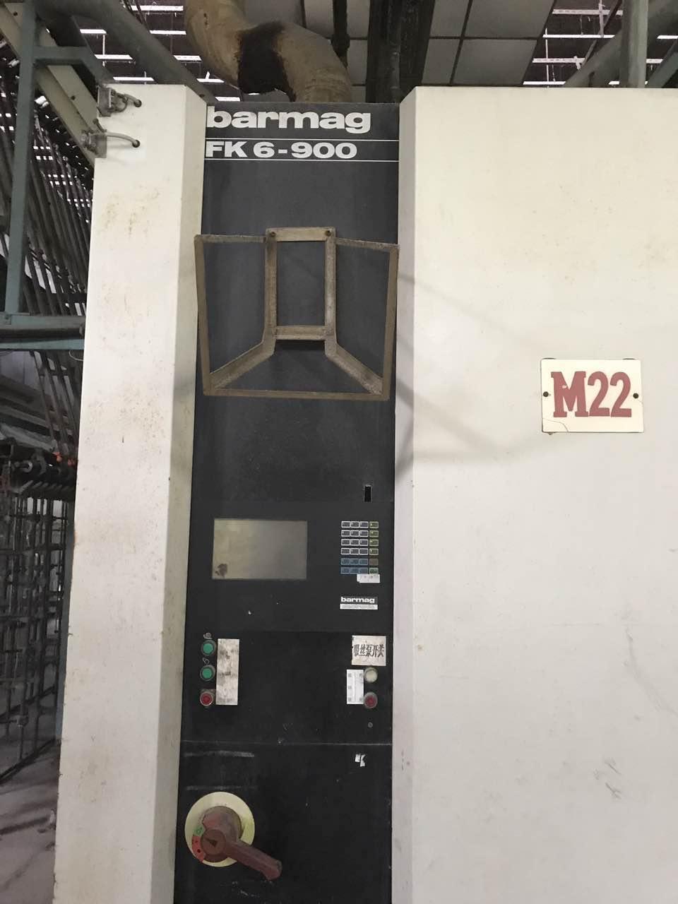 used Barmag FK6-900V texturizing machine for sale