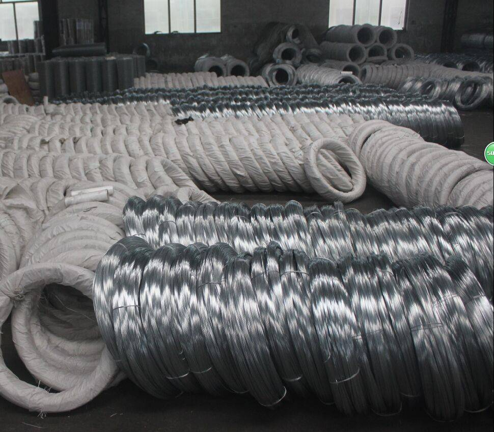 china supplier bwg 18 galvanized wires & zinc -plated binding wire