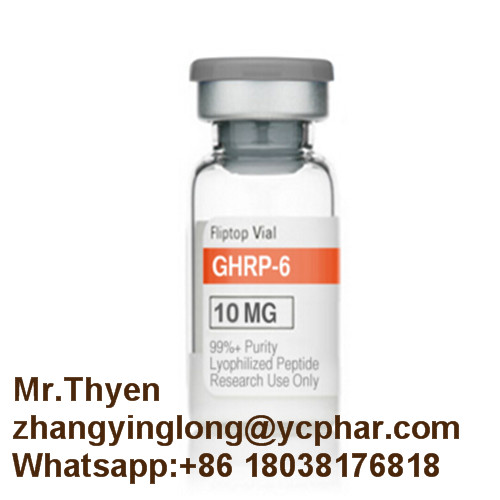 10mg/Vial GHRP-6 Growth Hormonese Secretagogue Receptor