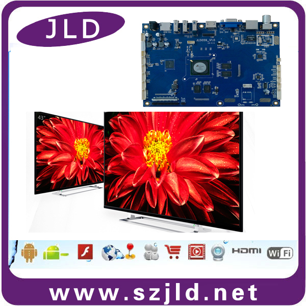 4k 3840x2160 Controller Android PCB PCBA Board For Smart TV with HDMI 2.0