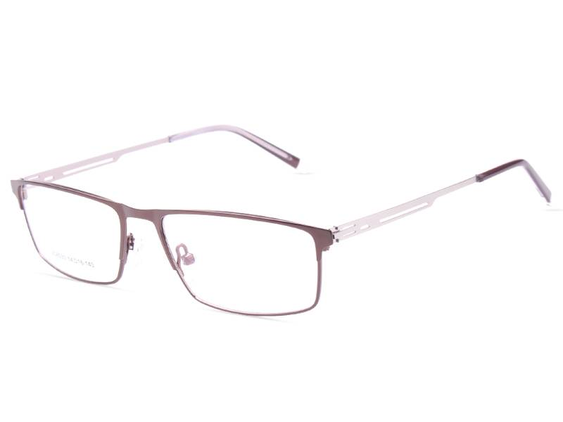 Fashion design flexible stainless steel metal optical frame JC8030