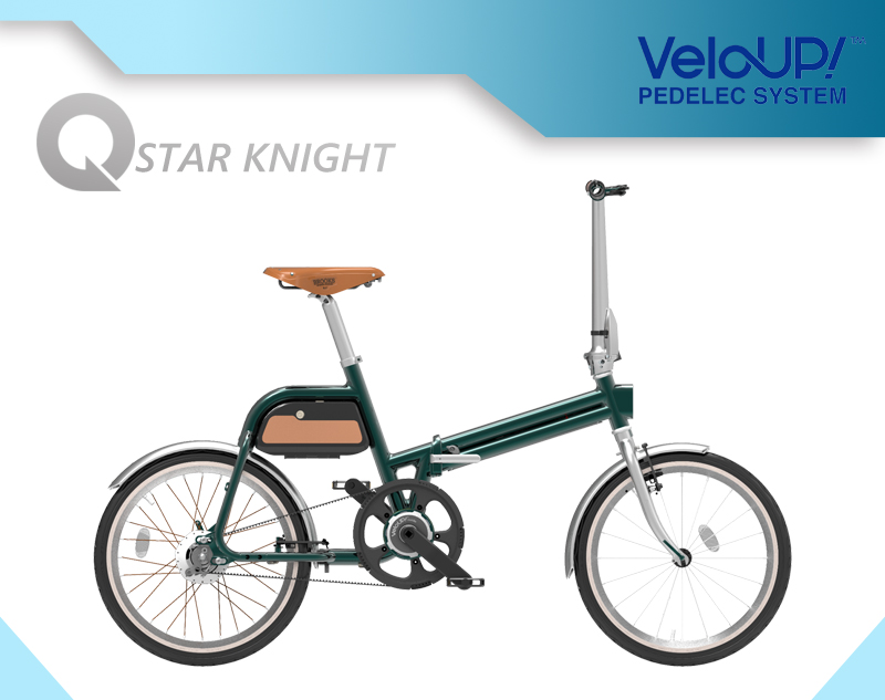 City Electric Bike with VeloUP System Speed 25km/H
