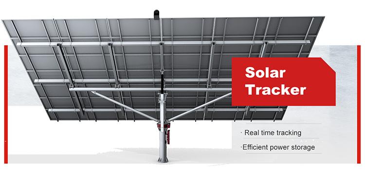 solar panels tracker