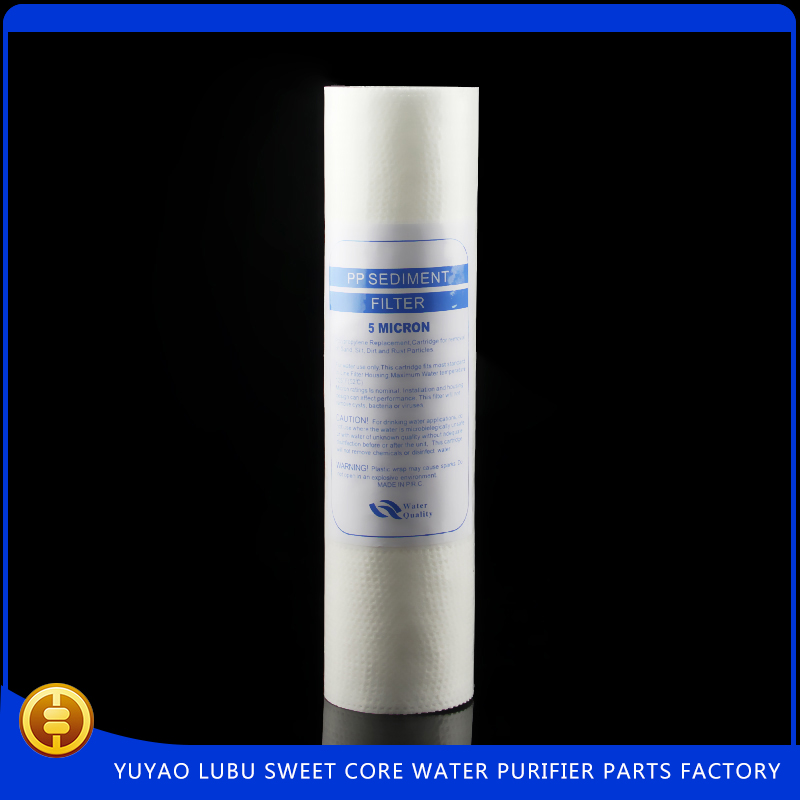 10inch pleated filter polypropylene cartridge filter for water treatment