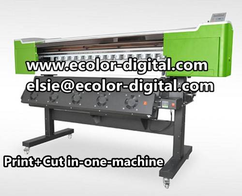 Print Cut in one machine with Epson DX5, 1440dpi for Printing and Cutting, 0.9m