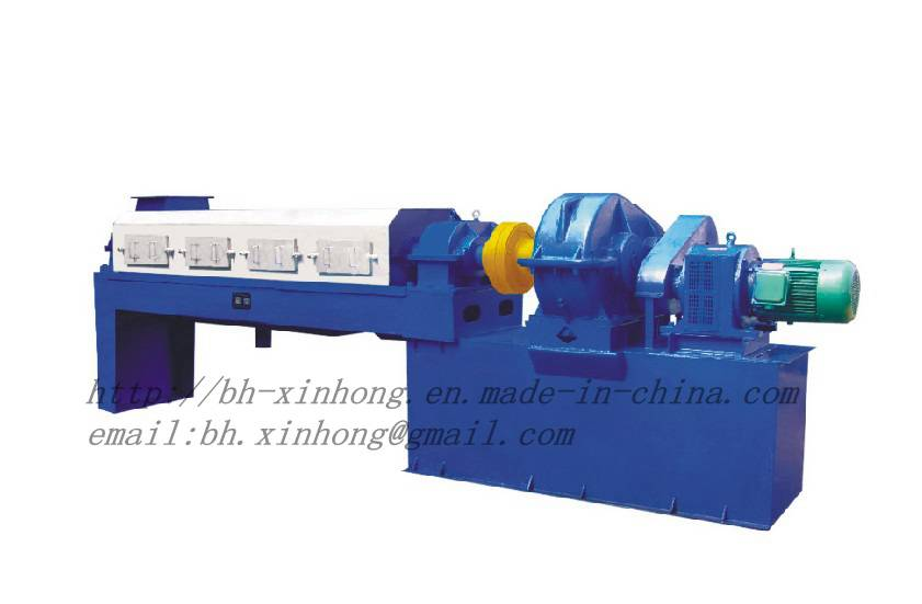 Twin Screw Press for Fishmeal Production