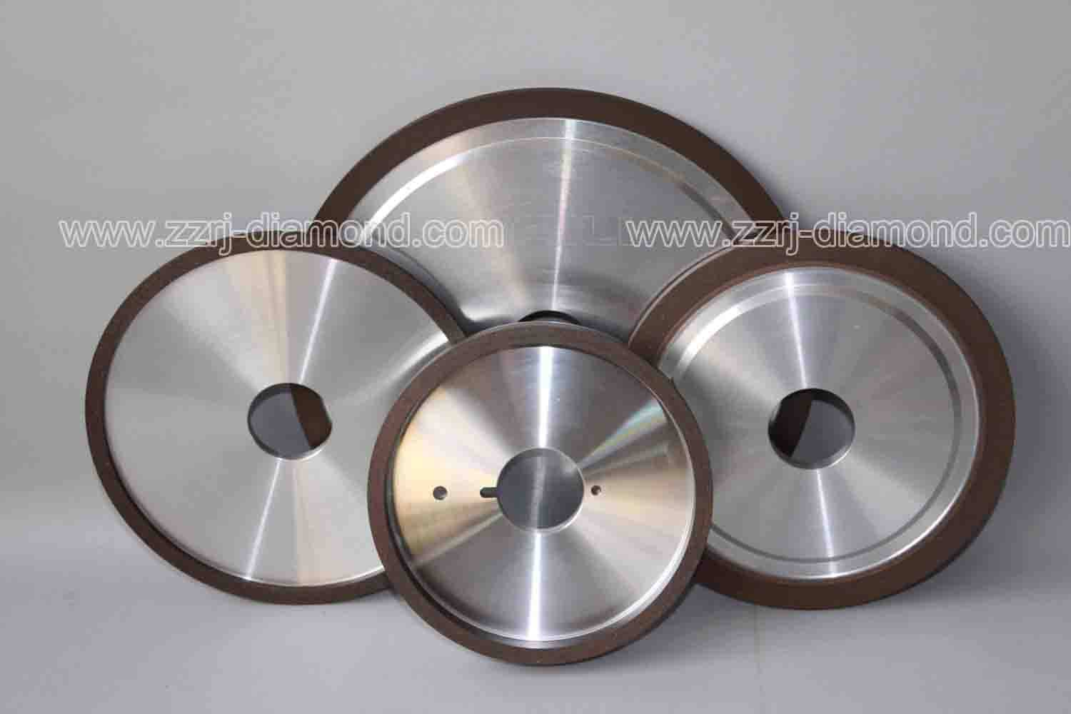 Resin bond, vitrified bond, metal bond diamond grinding wheels