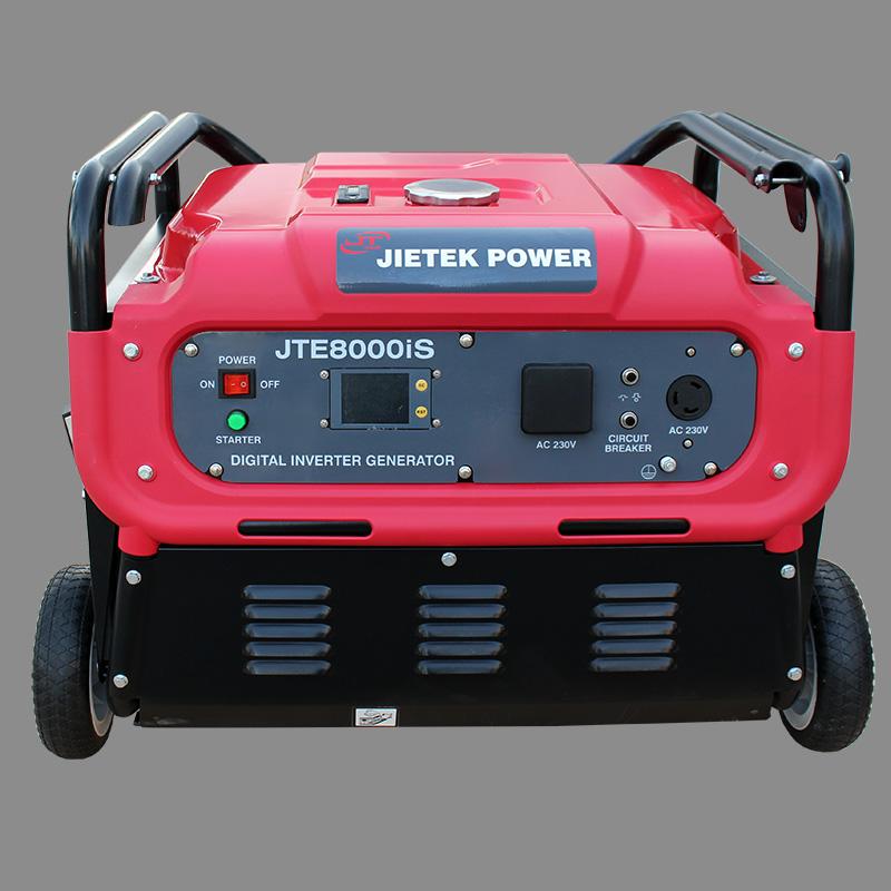 Digital gasoline inverter generator set JTE8000iS