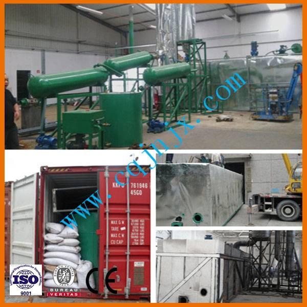 JNC-15 plastic Oil Refining Plant