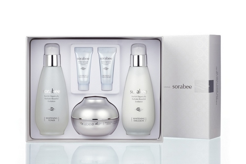 Sorabee whitening  skin care set
