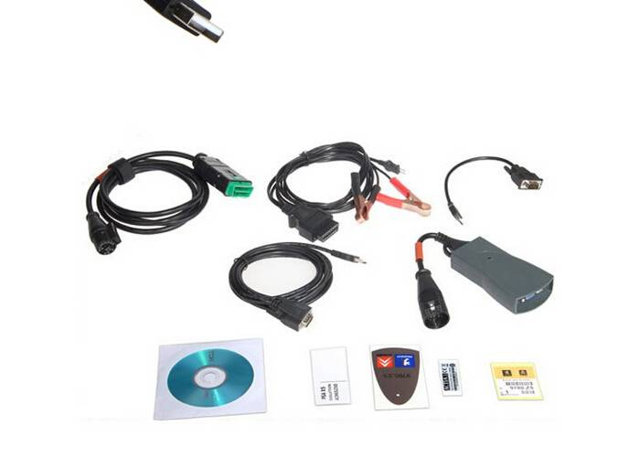 Lexia3 Auto Diagnostic Scanner Lexia 3 V48 PP2000 For Citroen Peugeot With New Diagbox