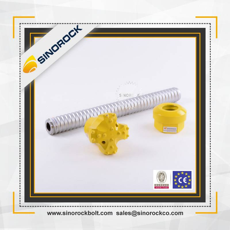 SINOROCK high quality mining grout hollow rock anchor bar