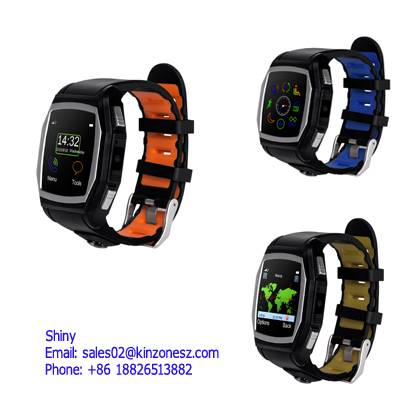 Leather Strap Waterproof Sports Students Smart Watch in Hot