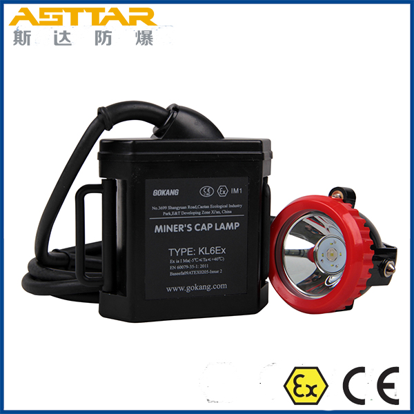 ATEX CERTIFIED kl6ex miners cap lamp and led mining headlight