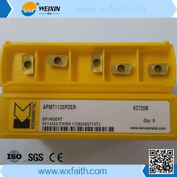 kennametal milling insert APMT1135PDER KC725M