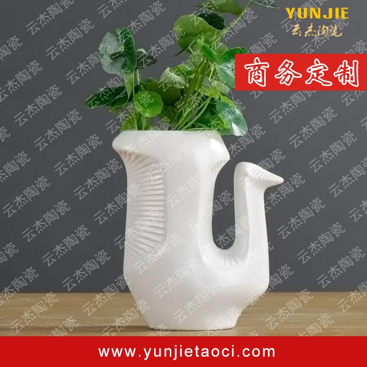 wholesale tall classic decoration ceramic flower vase