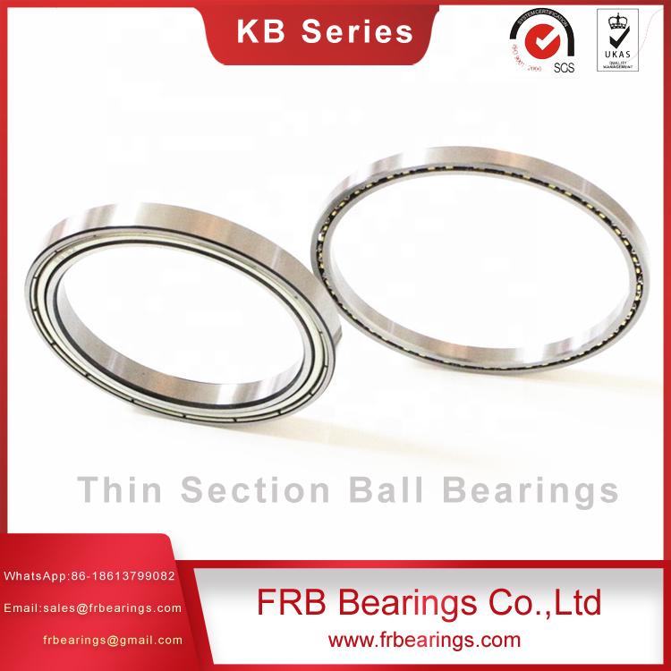 Stainless steel slim bearings-Augular contact ball bearings SB Series