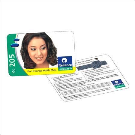 pvc scratch card/Phone card