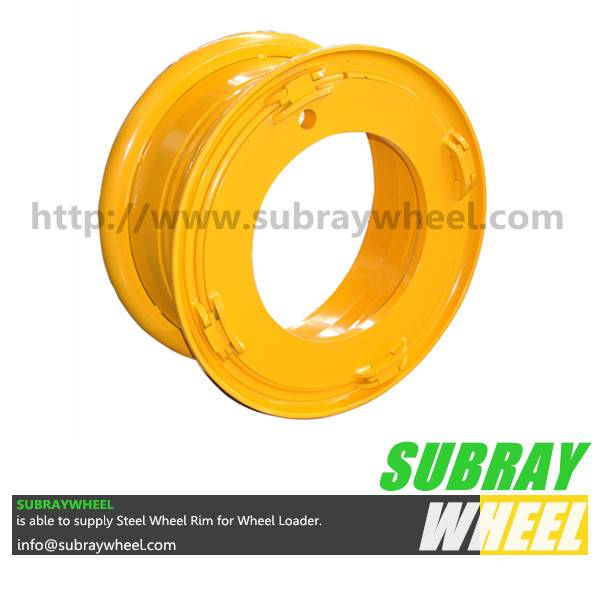 Earthmoving wheel and rim components