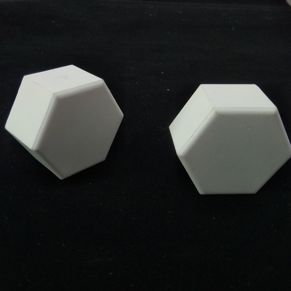 92 Alumina Hexagonal Mosaic Ceramic Tile for Belt
