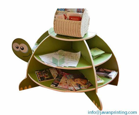 Advertising Counter Turtle Cardboard Stand Furniture