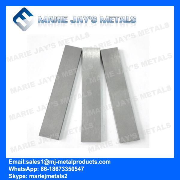 Tungsten carbide strips/blanks