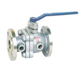 2-piece jacket ball valve