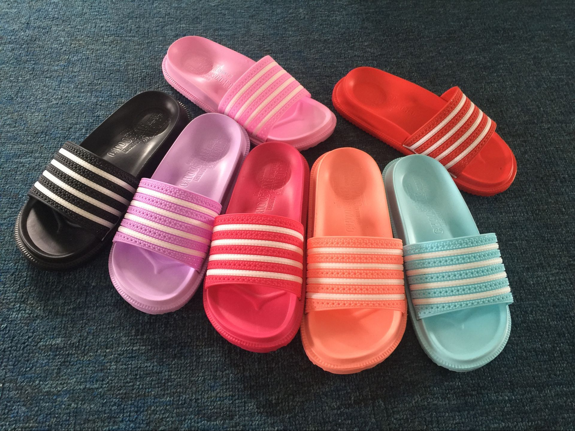 High Quality EVA Summer Line Slipper Rubber Sandals For Women
