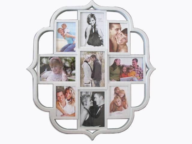 plastic photo frame/picture frame 9pcs